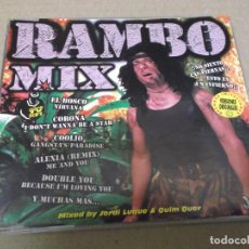 CDs de Música: JORDI LUQUE & QUIM QUER (CD/SN) RAMBO MIX (RADIO SHORT MIX) AÑO – 1996. Lote 295874318