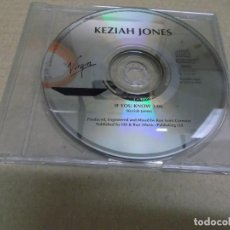 CDs de Música: KEZIAH JONES (CD/SN) IF YOU KNOW AÑO – 1993. Lote 295878248