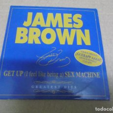 CDs de Música: JAMES BROWN (CD/SN) GET UP (I FEEL LIKE BEING A) SEX MACHINE AÑO – 2000 - PROMOCIONAL. Lote 295878443