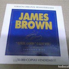 CDs de Música: JAMES BROWN (CD/SN) I FEEL GOOD (I GOT YOU) AÑO – 2000 - PROMOCIONAL. Lote 295878518