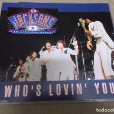 CDs de Música: THE JACKSONS (CD/SN) WHO'S LOVIN' YOU (3 TRACKS) AÑO – 1992. Lote 295878743