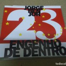 CDs de Música: JORGE BEN JOR (CD/SN) ENGENHO DE DENTRO AÑO - 1993. Lote 295878998