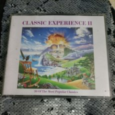 CDs de Música: CD DOBLE CLASSIC EXPERIENCE .. Lote 295879658
