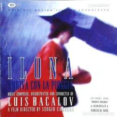 CDs de Música: ILONA ARRIVA CON LA PIOGGIA / LUIS BACALOV CD BSO. Lote 295880183