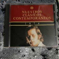CDs de Música: CD NUESTROS CLÁSICOS CONTEMPORÁNEOS.. Lote 295880263