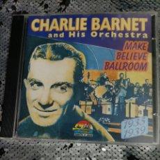CDs de Música: CD CHARLIE BARNET.. Lote 295880323