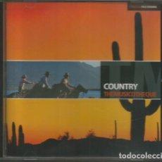 "CDs de Música: CD, ""COUNTRY"", COLECCION THEMUSICOTHEQUE. Lote 295914198"