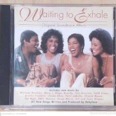 CDs de Música: B.S.O. WAITING TO EXHALE - CD 1995 (WHITNEY HOUSTON, ARETHA FLANKLIN- TONY BRAXTON, SHANNA..). Lote 295927833