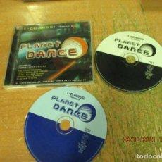 CDs de Música: T-COMISSI - PRESENTS PLANET DANCE - SPAIN - BIT MUSIC - LF -. Lote 295928868