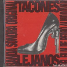 CDs de Música: TACONES LEJANOS CD BANDA SONORA DE LA PELÍCULA 1991 PEDRO ALMODÓVAR RYUICHI SAKAMOTO. Lote 295935078