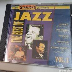 CDs de Música: THE BEST OF JAZZ VOL. 3. VV.AA.. Lote 295979753