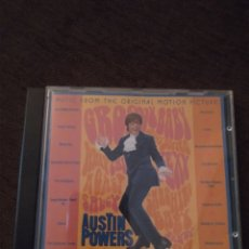 CDs de Música: BSO DE AUSTIN POWERS. VARIOS ARTISTAS. EDICIÓN DE 1997.. Lote 295981723