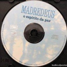 CDs de Música: MADREDEUS – O ESPÍRITO DA PAZ - SOLO EL CD /// SIN CAJA NI CARATULAS -. Lote 295989558