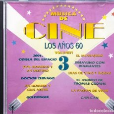 CDs de Música: MÚSICA DE CINE - LOS AÑOS 60 (VOLUMEN 3). Lote 295993718