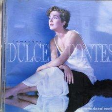 CDs de Música: DULCE PONTES – CAMINHOS - SOLO LA CAJA Y CARATULAS - SIN CD. Lote 295994468