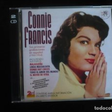 CDs de Música: CONNIE FRANCIS - SUS PRIMERAS GRABACIONES EN ESPAÑOL 1960-1964 - 2 CD COMO NUEVOS RAMA LAMA. Lote 295994843