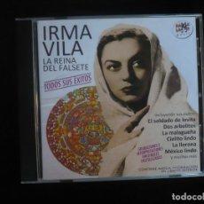CDs de Música: IRMA VILA LA REINA DEL FALSETE - TODOS SUS EXITOS - CD COMO NUEVO - RAMA LAMA. Lote 295995113