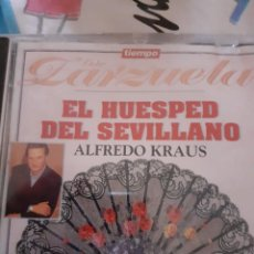 CDs de Música: GUERRERO: EL HUESPED DEL SEVILLANO ( 1 CD). ALFREDO KRAUS. Lote 295995258