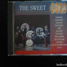 CDs de Música: THE SWEET - GOLD - CD COMO NUEVO. Lote 295995863