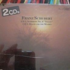 CDs de Música: SCHUBERT: FANTASIA, 4 SINFONIA, LA MUERTE Y LA DONCELLA. Lote 295996063