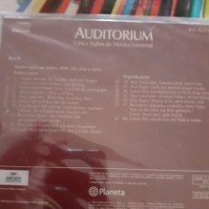 CDs de Música: BACH: SELECCION DE LA PASION SEGUN SAN MATEO (1 CD). COLECCION AUDITORIUM. ARCHIV PRODUKTION. Lote 295997118