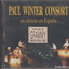 CDs de Música: PAUL WINTER CONSORT CD EN DIRECTO EN ESPAÑA 1993. Lote 296012238