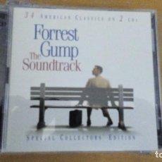 CDs de Música: FORREST GUMP THE SOUNDTRACK 2XCDS CON LIBRETO. Lote 296014538