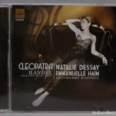 CDs de Música: CD. HANDEL. CLEOPATRA. NATALIE DESSAY. EMMANUELLE HAIM. Lote 296016263