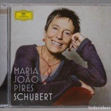 CDs de Música: CD. SCHUBERT. MARIA JOÃO PIRES. Lote 296016763