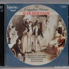 CDs de Música: 2 CD. THE SONGMAKERS' ALMANAC. SCHUBERTIADE. Lote 296017338
