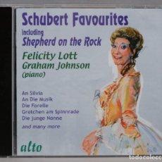 CDs de Música: CD. SHEPHERD ON THE ROCK. SCHUBERT. JOHNSON. Lote 296017548