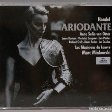 CDs de Música: 3 CD. MINKOWSKI. ARIODANTE. HANDEL. Lote 296017963