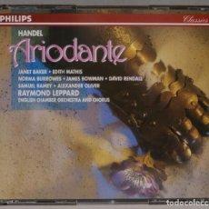 CDs de Música: 3 CD. LEPPARD. ARIODANTE. HANDEL. Lote 296018088