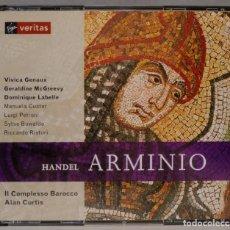 CDs de Música: 2 CD. CURTIS. ARMINIO. HANDEL. Lote 296018693