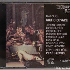 CDs de Música: CD. JACOBS. GIULIO CESARE. JACOBS. Lote 296018758