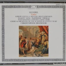 CDs de Música: 2 CD. HOGWOOD. ESTHER. HANDEL. Lote 296018938
