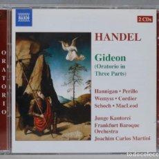 CDs de Música: CD. MARTINI. GIDEON. HANDEL. Lote 296019178