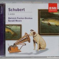 CDs de Música: CD. SCHUBERT. CHRISTOPH ESCHENBACH, JUSTUS FRANTZ. MUSIC FOR PIANO DUET. Lote 296019663
