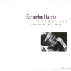 CDs de Música: EMMYLOU HARRIS. ANTHOLOGY. CAJA DIGIPACK 2 X CD + LIBRETO. WARNER ARCHIVES 8122-76705-2. 2001. Lote 296022718