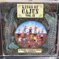 CDs de Música: VARIOUS - KINGS OF CAJUN VOL II (CD, COMP). Lote 296554998