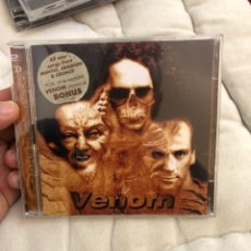 CDs de Música: VENOM - CAST IN STONE - 1997 - DOBLE CD - PERFECTÍSIMO ESTADO COMO NUEVO. Lote 296556573