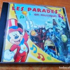 CDs de Música: LES PAREDES EN MUSIQUE CD ALBUM 2005 DISNEYLAND RESORT PARIS FRANCIA MARY POPPINS PINOCHO 7 TEMAS. Lote 296557588
