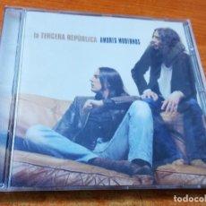 CDs de Música: LA TERCERA REPUBLICA AMORES MODERNOS CD ALBUM 2003 ALEJO STIVEL CARLOS TARQUE RAMON ARROYO M CLAN. Lote 296558298