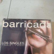 CDs de Música: BCD MÚSICA BARRICADA - LOS SINGLES (1983-1996) 2 CD 1995. Lote 296559333