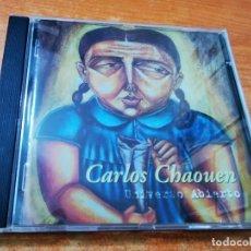 CDs de Música: CARLOS CHAOUEN UNIVERSO ABIERTO CD ALBUM 2004 CONTIENE 11 TEMAS ANA TORROJA MECANO. Lote 30805208