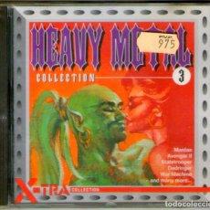 CDs de Música: NUEVO, PRECINTADO!!! HEAVY METAL COLLECTION 3 - RAVEN, VENOM, MANTAS, CRONOS, JAGUAR, AVENGER II.... Lote 296561043