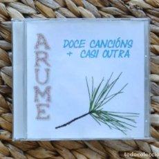 CDs de Música: ARUME DOCE CANCIÓNS + CASI OUTRA CD MUSICA GALEGA TRADICIONAL CELTA GALICIA. Lote 296561758