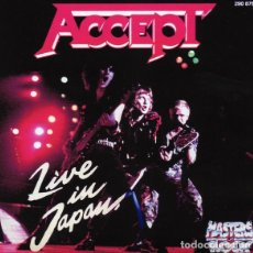CDs de Música: ACCEPT - LIVE IN JAPAN CD 1992 METAL. Lote 296575743