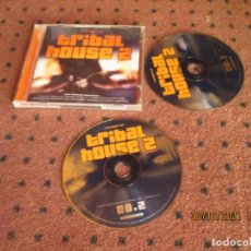 CDs de Música: TRIBAL HOUSE 2 - THE BEST OF - 2CD,S - PORTUGAL - MK2 MUSIC - LF -. Lote 296579998