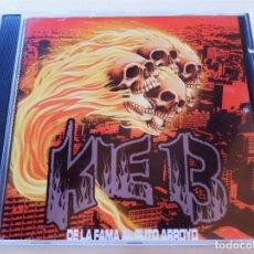 CDs de Música: KIE 13 - DE LA FAMA AL PUTO ARROYO - CD NORTESUR 2004 - PERFECTO ESTADO!. Lote 296581813